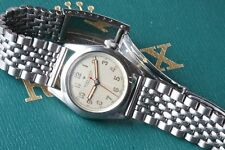 Vintage watch bracelet Beads of Rice 17mm straight ends Speedking or Bubbleback