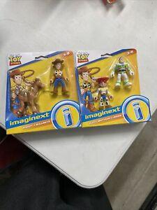 Imaginext Buzz Lightyear Jessie Woody Bullseye Toy Story Figures Fisher Price
