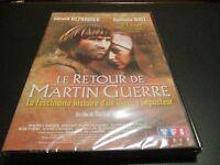 """DVD NEUF """"LE RETOUR DE MARTIN GUERRE"""" Gerard DEPARDIEU, Nathalie BAYE"""