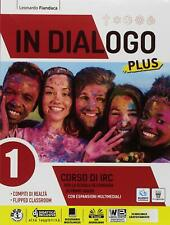 9788842654063 In dialogo plus. Corso di IRC. Per la Scuola media...one online: 1