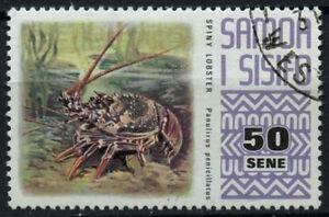 Samoa 1972-6 SG#398, 50s Definitive, Lobster Used #D47096