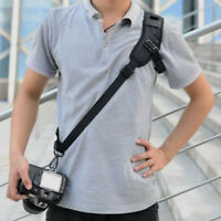 Quick Rapid Shoulder Sling Belt Neck Strap for SLR/DSLR Nikon Canon Sony Camera