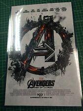 Avengers 11x17 Lobby Card