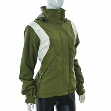 8848 Altitude jacket hoodie for lady Girls Ski Size 38 Green/White Authentic