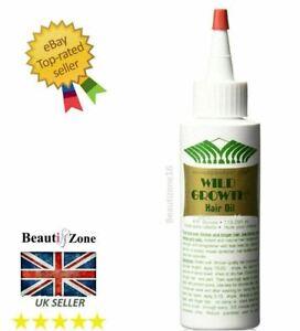 Wild Growth Hair Oil Fast Regrowth Formula Eyelash Eyebrows Growth Oil 118ml
