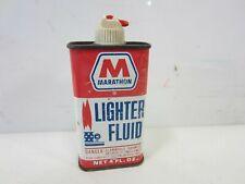 Vintage Marathon Lighter Fluid 4 oz. Can- Empty