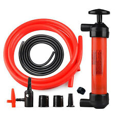 Hand Siphon Fuel Oil Diesel Petrol Liquid Water Extractor Transfer Pump Tool Kit