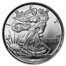 1/10 oz Walking Liberty Lady Silber Eagle Design Half Dollar 999 Silver AG