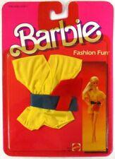1984 Barbie Fashion Fun Yellow Shorts Romper Ensemble 2090 (New)