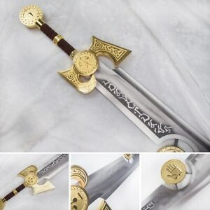 Collectible WOW High Quality Metal Ashbringer Legendary Scarlet Highlord Sword