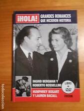 DVD + LIBRO ¡HOLA! -GRANDES ROMANCES QUE HICIERON HISTORIA - HUMPHREY BOGART (M5