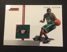 Tony Allen Celtics Oklahoma State 2005 Topps Personal Jersey Certified JN15