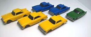 6 x HORNBY H255 SUNBEAM PLASTIC CARS OO GAUGE