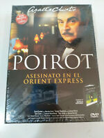 Asesinato en el Orient Express Agatha Christie Poirot - Libro + DVD Nuevo - 3T