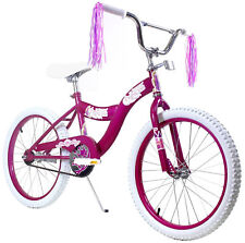 "Innovative Sports 20"" Kids Bicycle Bike For Girls with Princess Pink Stickers"