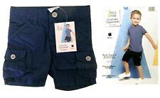Baby Toddler Bermuda Shorts Shorts Cargo Shorts Blue Size 74 New