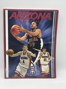2002-03 Arizona Wildcats NCAA Basketball Media Guide