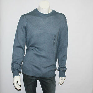 Men's Croft & Barrow Gray Blue Crewneck Sweater Size XL New with Tags