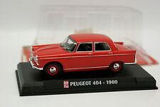 Ixo Presse Auto Plus 1/43 - Peugeot 404 1960 Rouge