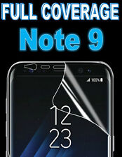 FULL COVERAGE 100% HD SCREEN PROTECTOR COVER TPU FILM FOR SAMSUNG GALAXY NOTE 9
