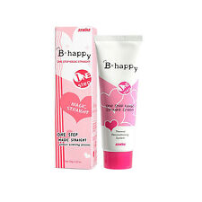 One Step Hair Straight Cream Easy Use Hair Care Styling Straightening Smoothing