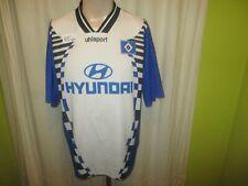 """Hamburger SV Original uhlsport Auswärts Trikot 1996/97 """"HYUNDAI"""" Gr.XXL"""