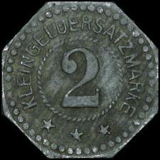 NOTGELD: 2 Pfennig. Funck 296.2. STADT LIEBAU / SCHLESIEN ⇒ LUBAWKA.