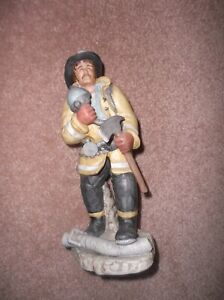 ENESCO The Professionals By Michael Rochel Limited Edition Firefighter Sculpture