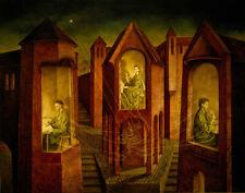 Remedios Varo Three Fates Canvas Print 16 x 20      #4506