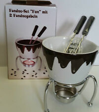 Fondue - Set / kleines Fondue / für 2 / Schokoladen - Fondue / Geschenk