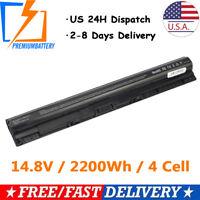 Battery For Dell Inspiron 14-3458 15-3558 3451 3458 3552 5755 GXVJ3 M5Y1K PRMB