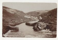 Boscastle Harbour Cornwall 1909 RP Postcard Oatey 685b