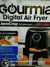 Gourmia 5 Qt Digital Air Fryer- Easy-Clean Convenience, GAF575