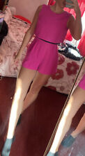 Miss Selfridge Petites Fuschia Pink Playsuit Size 8 BNWOT