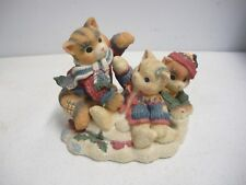 Enesco Calico Kittens - Three Little Kittens Who Lost Their Mittens - Limited Ed