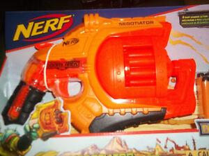 Nerf Doomlands 2169 Negotiator Blaster New