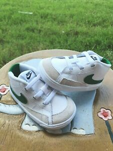 "Nike Blazer Mid ""White/Green"" BRAND NEW Toddler 4C"