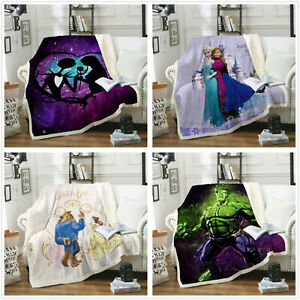 Kuscheldecke Anime 3D Gedruckte Decke Wohndecke Wolldecke 150×200 Sofadecke Bett