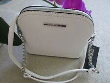 Steve Madden Women's BMaggie Crossbody Bag White New With Tag