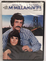 McMillan & Wife: Season 1 (DVD 2016) Rock Hudson, Susan Saint James BRAND NEW