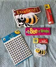 Lot of 4 Bee Theme Teaching Supplies