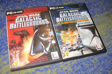 Star Wars Galactic Battlegrounds Die Klonkrieg Kampagne und Hauptspiel PC