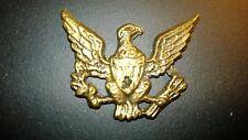 ANTIQUE RARE  AMERICAN EAGLE  BRASS PLAQUE