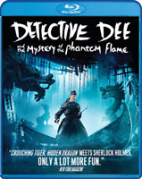 DETECTIVE DEE - The Mystery Of The Phantom Flame [Kung Fu/Action] Blu-ray Disc