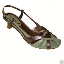 Kitten Standard (D) Width 100% Leather Shoes for Women