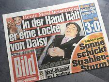 BILD Zeitung 22. Januar 2005 / 01. / 22.01.2005 / Rudolph Moshammer Mord