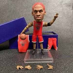NEW Toy Star Dennis Rodman World Sport Gift Basketball Action Doll Figure 13cm