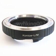 Konica AR Lens To Leica M L/M LM Adapter M2 M3 M4 M5 M6 M7 M8 M9 MP Ricoh GXR-M