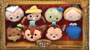 D23 Expo 2015 Disney Tsum Tsum Pinocchio 75th Anniversary Box Set Japan plush