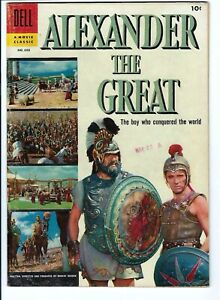 Four Color #688 Alexander The Great F-VF Dell Golden Age Photo Cover Buscema